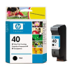 HP 40 - 42 ml Zwart inkt cartridge - 51640AE
