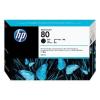 HP 80 - 350 ml Zwart inkt cartridge - C4871A