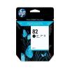 HP 82 - 69 ml Zwart inkt cartridge - CH565A