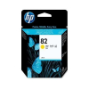 HP 82 - 28 ml Geel inkt cartridge - CH568A