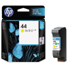HP 44 Geel/Yellow 42ml - 51644YE