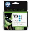 HP 712 Cyaan 29ml 3 pack - 3ED77A
