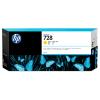 HP 728 - 300 ml Geel Inkt Cartridge - F9K15A