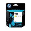 HP 728 - 40 ml Geel Inkt Cartridge - F9J61A