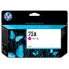 HP 728 - 130 ml Magenta inkt cartridge - F9J66A