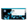 HP 730 - 300 ml Cyaan DesignJet Inkt Cartridge - P2V68A
