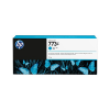 HP 773C cyaan DesignJet 775 ml inktcartridge - C1Q42A