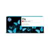 HP 774 chromatisch rode DesignJet 775 ml inktcartridge - P2W02A
