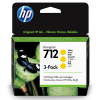 HP 712 Geel 29ml 3 pack - 3ED79A
