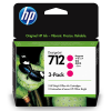 HP 712 Magenta 29ml 3 pack - 3ED78A