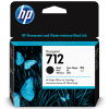 HP 712 Zwart 38ml - 3ED70A