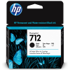 HP 712 Zwart 80ml - 3ED71A