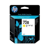 HP 728 Geel 40 ml - F9J61A